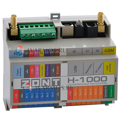 ЭВАН ZONT H-1000 Модуль дистанционного управления котлом отопления